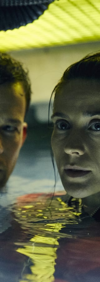 Movie still from The Chamber
