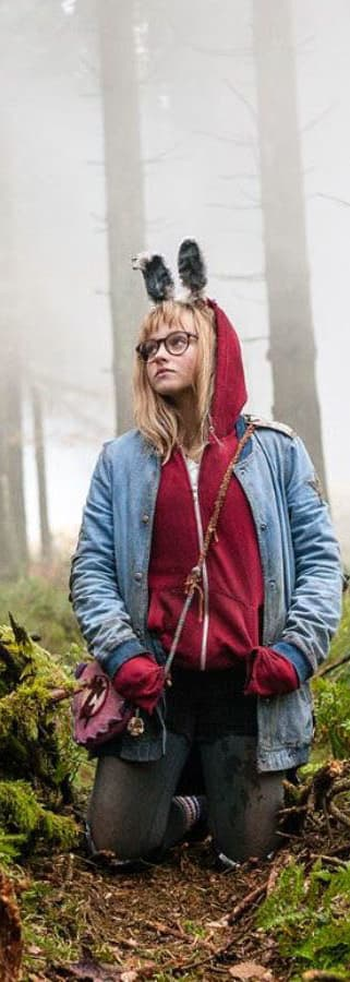 Movie still from I Kill Giants