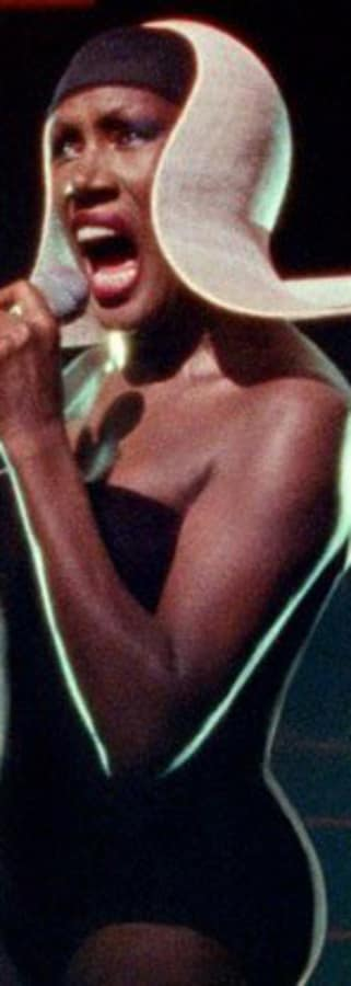 Movie still from Grace Jones: Bloodlight And Bami