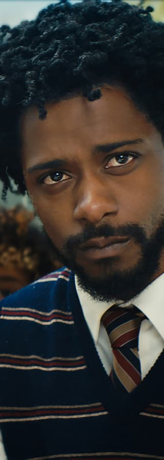 Movie still from Sorry To Bother You