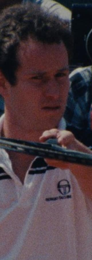 Movie still from John McEnroe: In The Realm Of Perfection