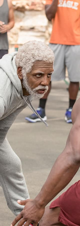 Movie still from UNCLE DREW American Express Member Showing