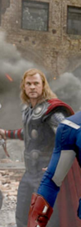 Movie still from Marvel Studios 10th: The Avengers