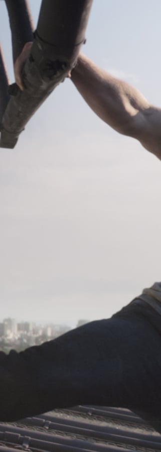 Movie still from Marvel Studios 10th: Captain America: Civil War