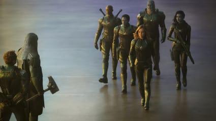 Play trailer for Captain Marvel