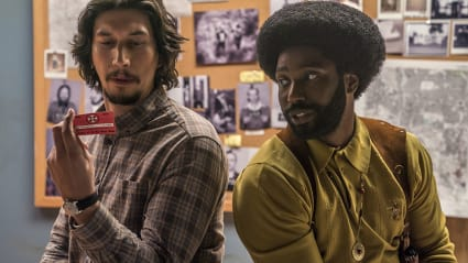 Play trailer for BlacKkKlansman