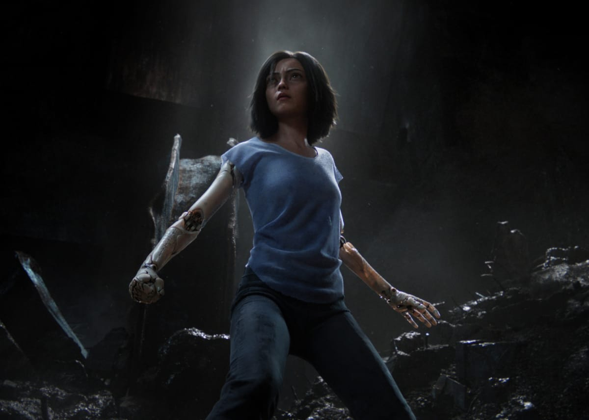 See Alita: Battle Angel in RealD 3D
