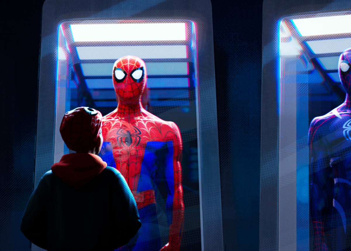 See Spider-Verse in Dolby Cinema