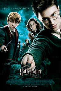 Harry Potter Series: Harry Potter & The Order Of The Phoenix