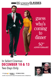 Guess Who's Coming to Dinner 50th Anniversary (1967) presented by TCM