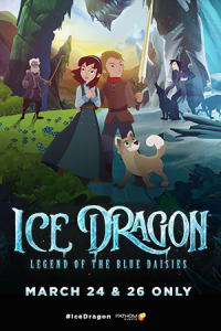 Ice Dragon: Legend of the Blue Daises