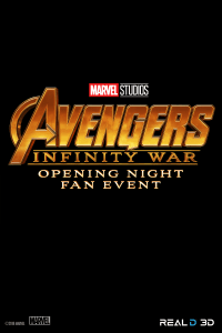 Opening Night Fan Event, Avengers: Infinity War