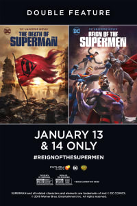 The Death of Superman / Reign of the Supermen Double Feature