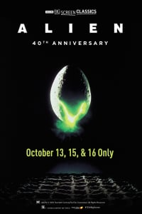 Alien 40th Anniversary (1979) presented by TCM