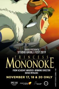 Princess Mononoke – Studio Ghibli Fest 2019
