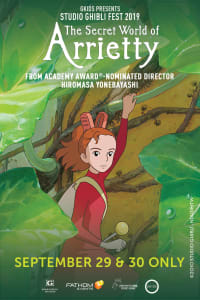 The Secret World of Arrietty – Studio Ghibli Fest 2019