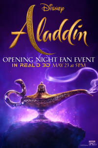 Opening Night Fan Event: Aladdin