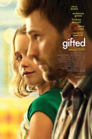 movie poster for Gifted