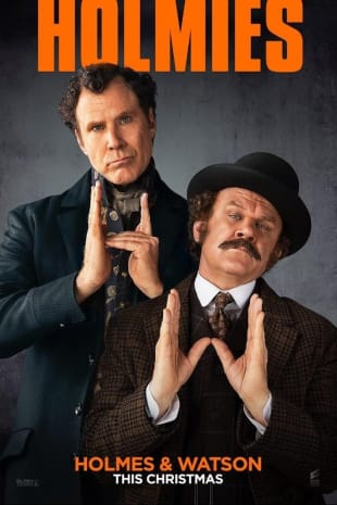 movie poster for Holmes And Watson