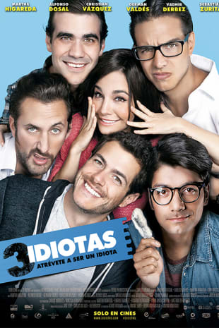 movie poster for 3 Idiotas