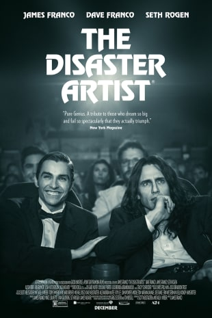 movie poster for The Disaster Artist