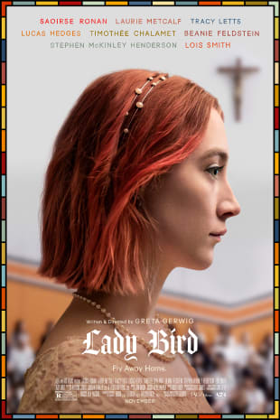movie poster for Lady Bird