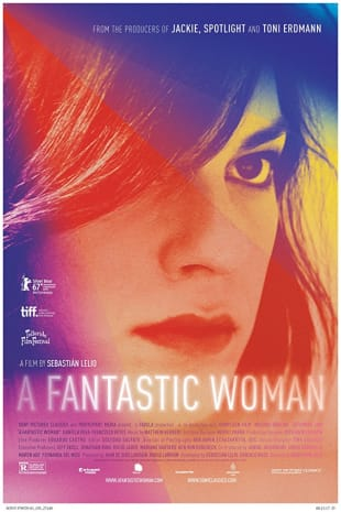movie poster for A Fantastic Woman