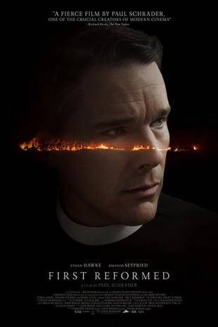 movie poster for First Reformed