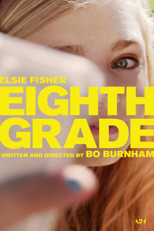 movie poster for Eighth Grade