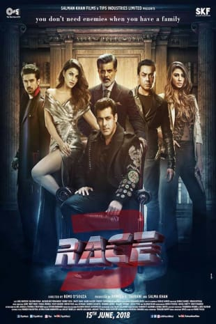 movie poster for Race 3