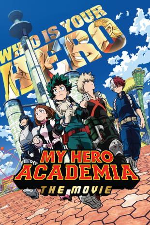 movie poster for My Hero Academia: Two Heroes