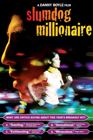 movie poster for Slumdog Millionaire