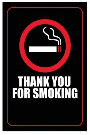 movie poster for Thank You For Smoking