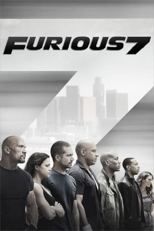 movie poster for Furious 7