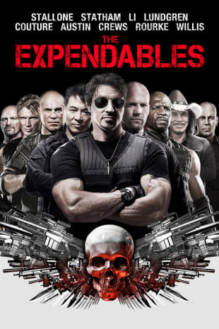 movie poster for The Expendables