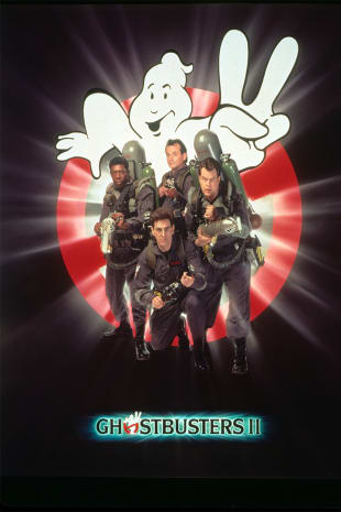 movie poster for Ghostbusters II