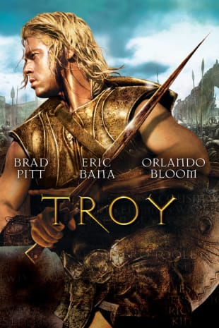 movie poster for Troy