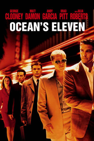 movie poster for Ocean's Eleven