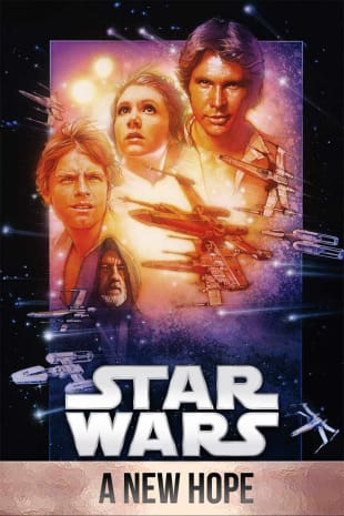 movie poster for Star Wars: Episode IV - A New Hope