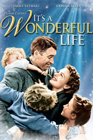 movie poster for It's A Wonderful Life