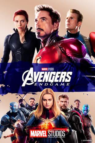 movie poster for Avengers: Endgame