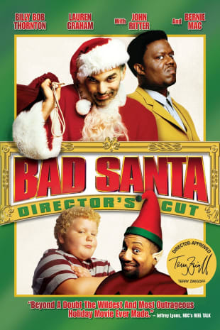 movie poster for Bad Santa - The Director's Cut