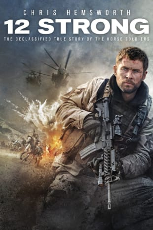 movie poster for 12 Strong