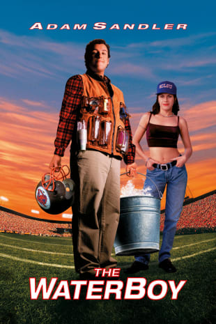 movie poster for The Waterboy