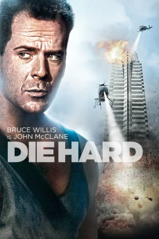 movie poster for Die Hard