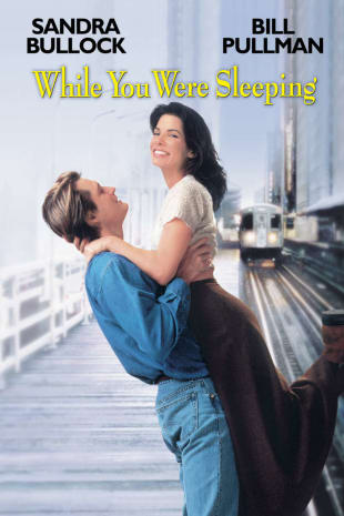 movie poster for While You Were Sleeping