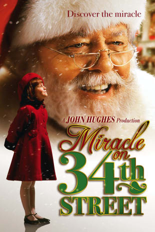 movie poster for Miracle on 34th Street
