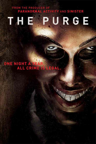 movie poster for The Purge