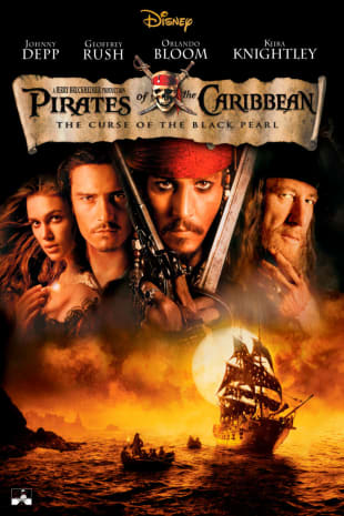 movie poster for Pirates Of The Caribbean: The Curse of the Black Pearl