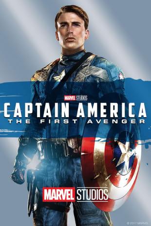 movie poster for Captain America: The First Avenger